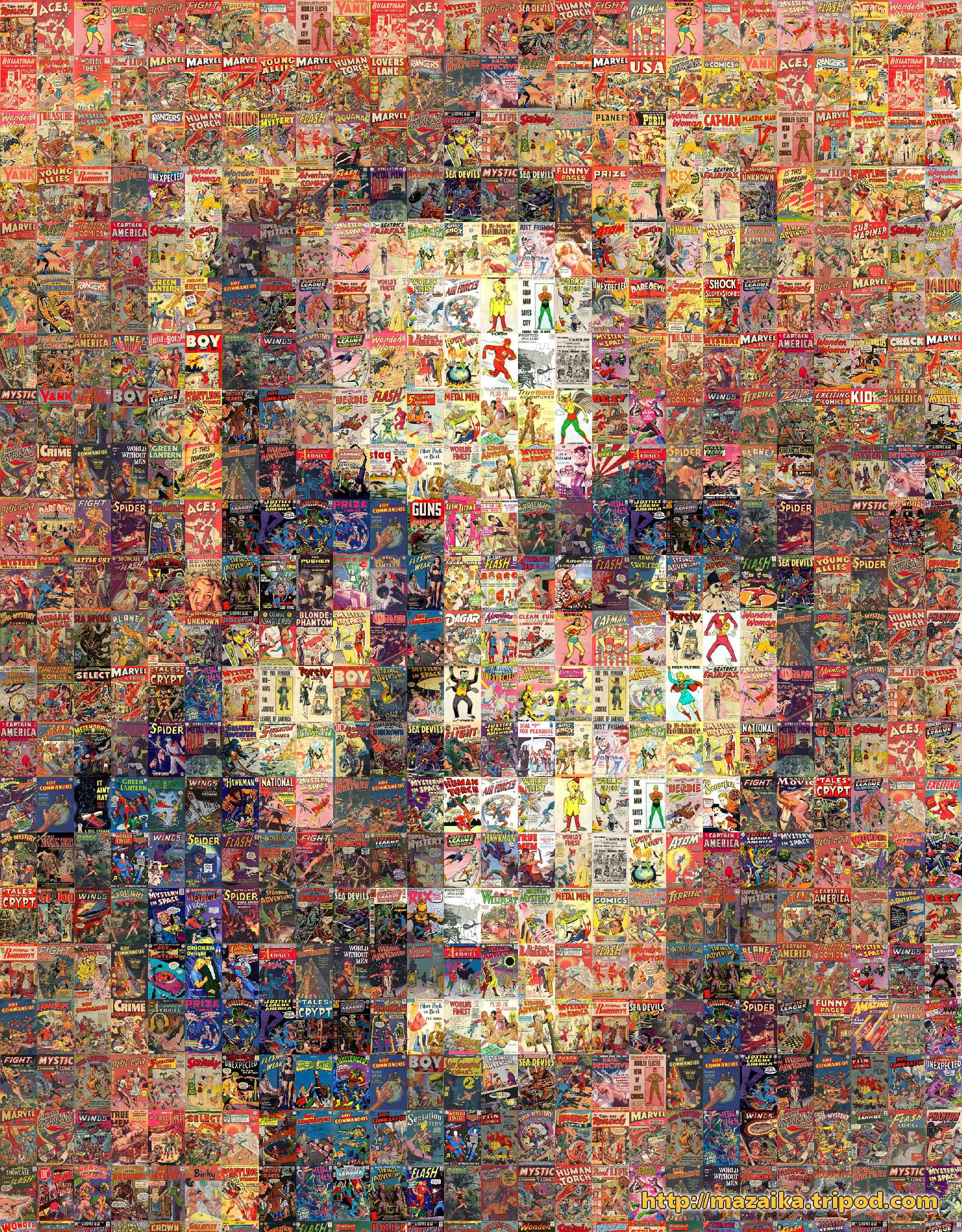 First Gallery of Photographic Mosaic Pictures