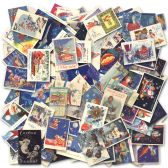 Photo Jumble collage from 150 postcards scanned at high resolution