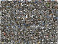 Photo Jumble collage. 1500 photos from Italy