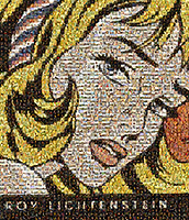 Roy Lichtenstein from classic paintings