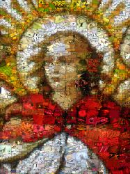 Archangel Raphael Photo Jumble collage