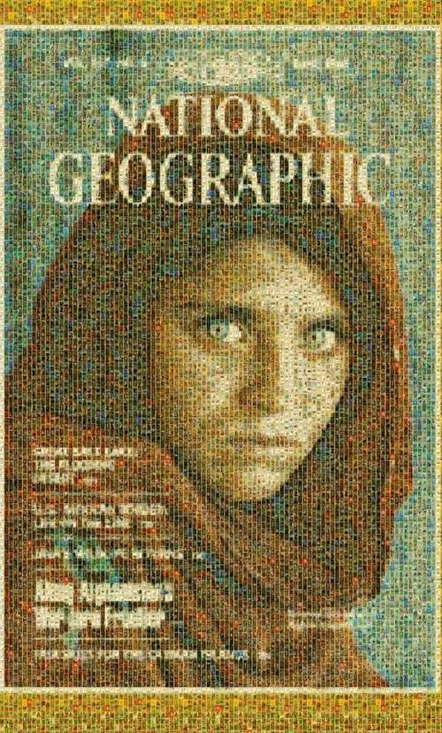 National Geographic covers mural