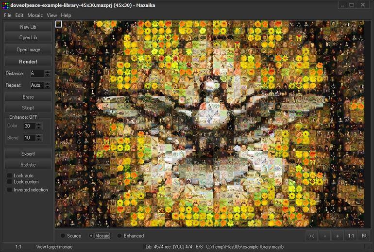 Photo mosaic programs :: Mazaika com - Photo mosaic software :: Home